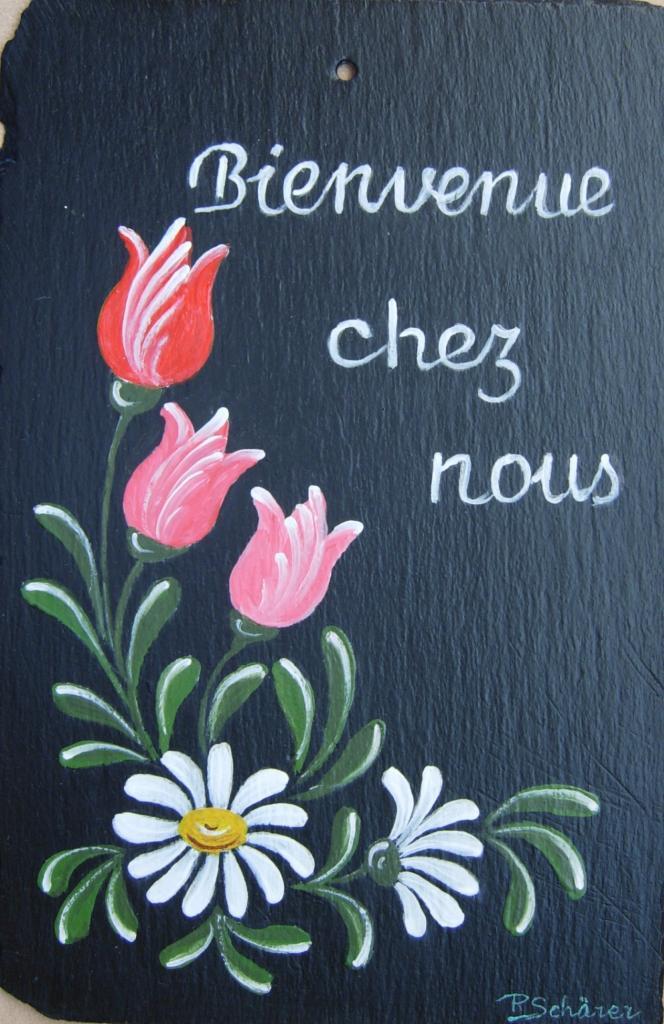 Peinture Sur Ardoise Exterieur
